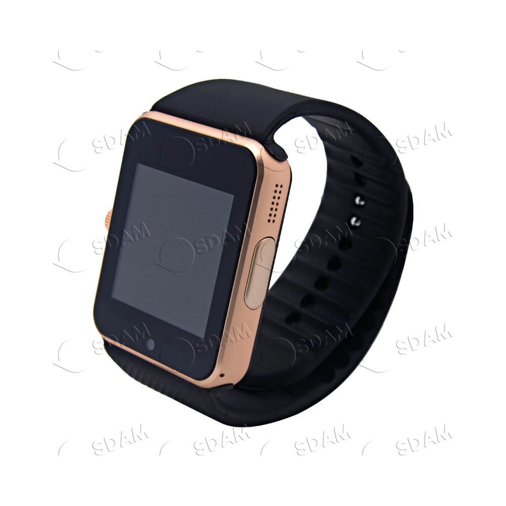 Смарт часы GT08 (золотые) - 2